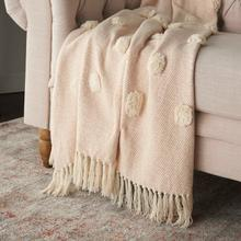 "Throw Sh019 Blush 50"" X 60"" Throw Blanket"