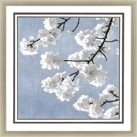 Blossoms On Blue II