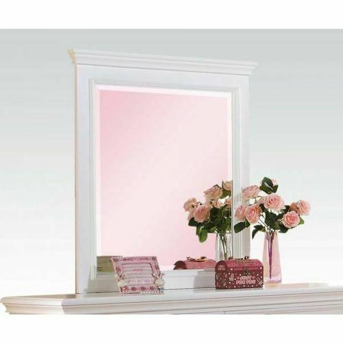 ACME Lacey Mirror - 30600 - White