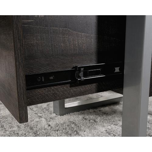 Contemporary L-Shaped Desk with Drawers