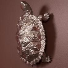 See Details - Turtle Figurine Textured Pewter