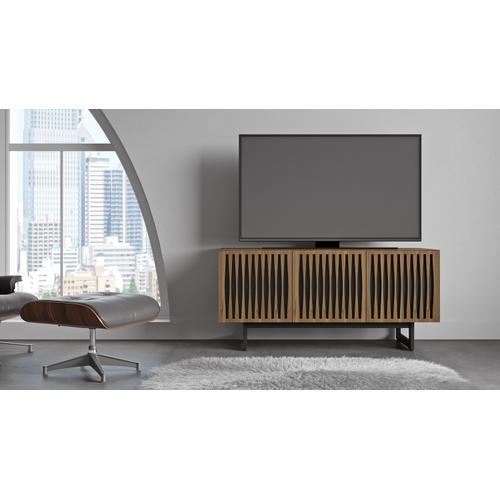 BDI Furniture - Elements 8777 Media Media Cabinet in Tempo Doors Natural Walnut