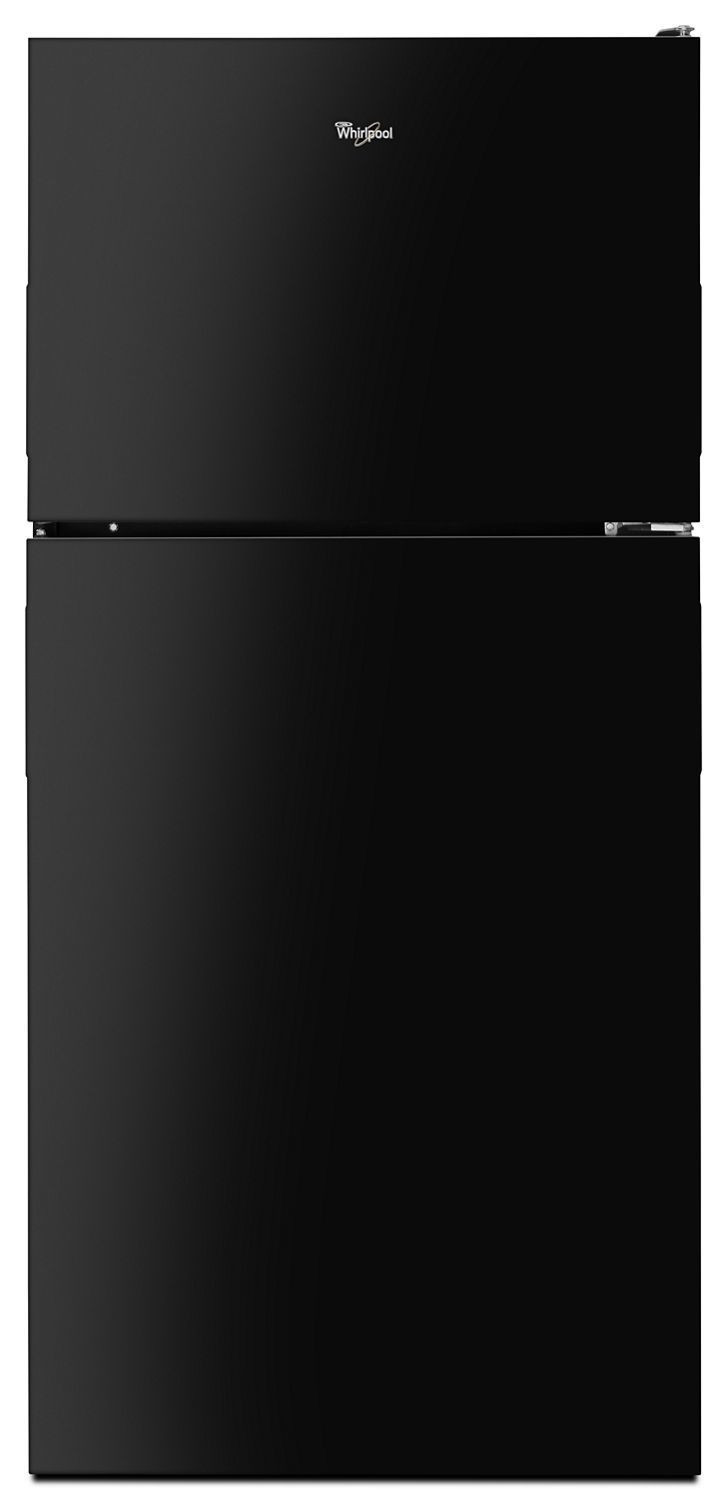 Whirlpool30-Inch Wide Top Freezer Refrigerator - 18 Cu. Ft. Black