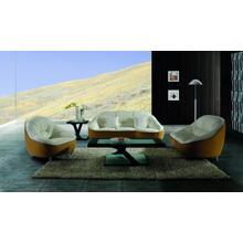 Product Image - Divani Casa 9007 Modern 2-Tone Leather Sofa Set