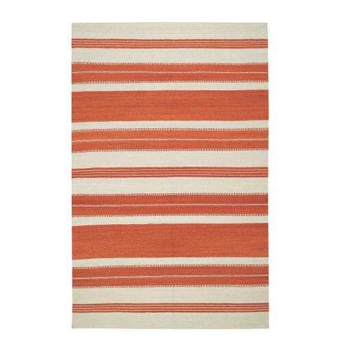 Puhalo Stripe Saffron Flat Woven Rugs