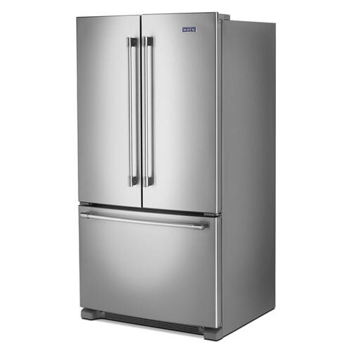 Maytag - 36-Inch Wide French Door Refrigerator - 25 Cu. Ft.