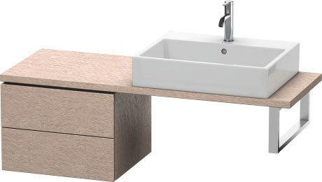 Low Cabinet For Console Compact, Cashmere Oak