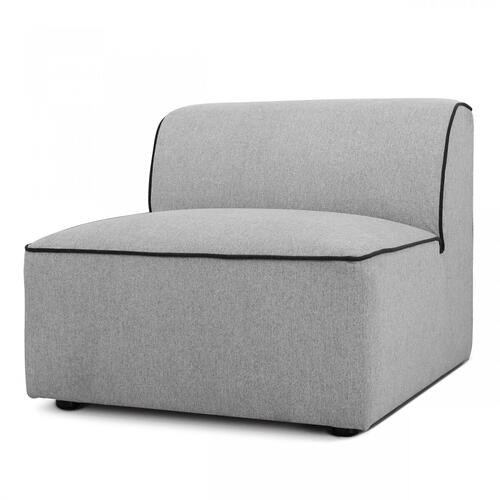 VIG Furniture - Divani Casa Polo - Modern Green + Blue + Grey Fabric Modular Sectional Sofa