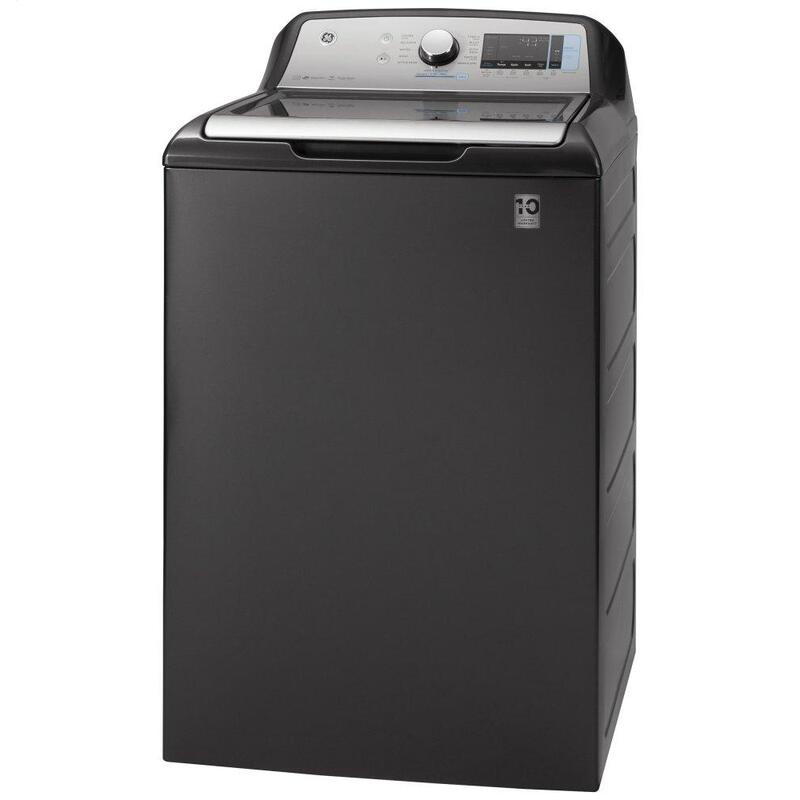GE® 5.0 cu. ft. Capacity Smart Washer with Sanitize w/Oxi and SmartDispense