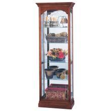 See Details - Howard Miller Portland Curio Cabinet 680340