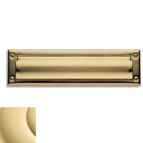 Baldwin - Non-Lacquered Brass Letter Box Plates