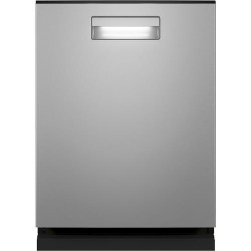 Haier Smart Top Control with Stainless Steel Interior Dishwasher with Sanitize Cycle