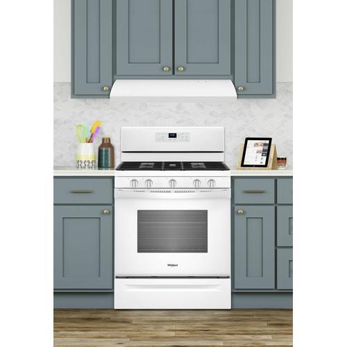 KitchenAid - 30-INCH VENTED UNDERCABINET HOOD - White