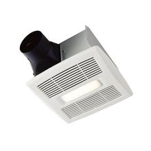 Flex Series 80 CFM Ceiling Room Side Installation Bathroom Exhaust Fan with Light, ENERGY STAR*
