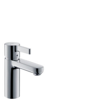 Chrome Single-Hole Faucet 100 with Pop-Up Drain, 0.5 GPM Product Image