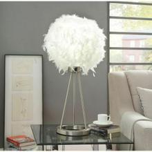 ACME Theodosia Table Lamp - 40148 - Sandy Nickel