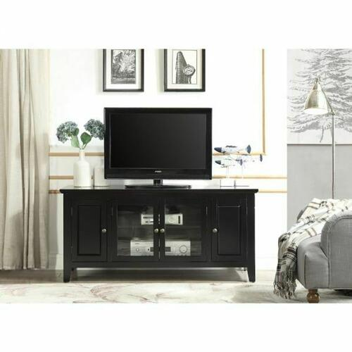 ACME Christella TV Stand - 10344 - Black for Flat Screens TVs up to 60""