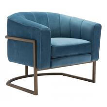 Lyric Occasional Chair Blue