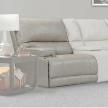 View Product - WHITMAN - VERONA LINEN - Powered By FreeMotion Power Cordless Left Arm Facing Recliner