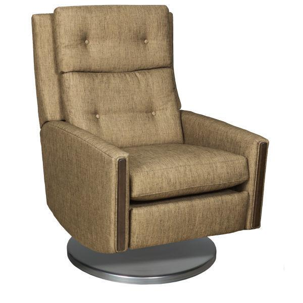 Reclination Loft Power Swivel Recliner W/cymbal Base