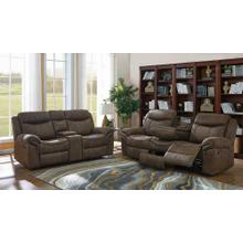 Sawyer Transitional Light Brown Two-piece Living Room Set