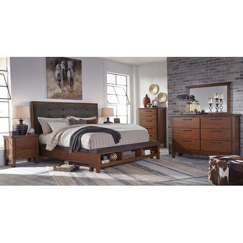 ASHLEY B594-31-36-58-56-97 Ralene 3-Piece Bedroom Group - King Bed, Dresser & Mirror