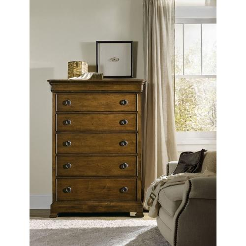 Bedroom Archivist Six-Drawer Chest