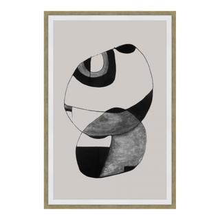 See Details - Happiness 1 Abstract Ink Print Wall Décor