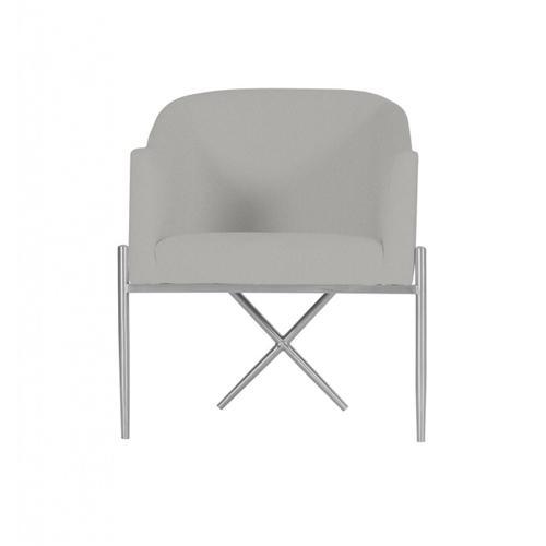 VIG Furniture - Modrest Mancos - Modern Grey Velvet Accent Chair