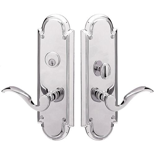 Polished Chrome Stanford Entrance Set