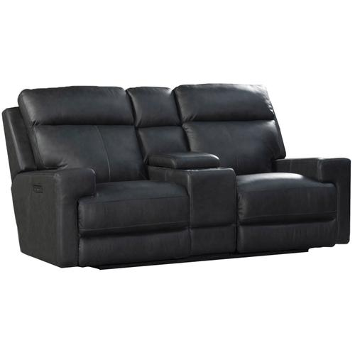 Solana Triple Power LoveSeat  Space Gray