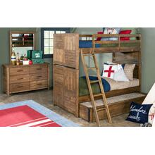 View Product - Summer Camp - Brown Twin Over Twin Bunk Bed