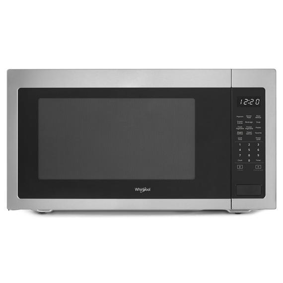 Whirlpool - 2.2 cu. ft. Countertop Microwave with 1,200-Watt Cooking Power