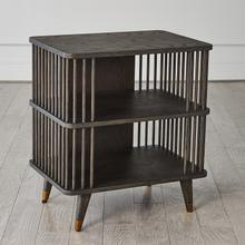 See Details - Arbor Three Tier Side Table-Smoke