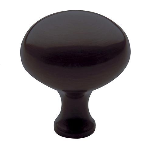 Baldwin - Venetian Bronze Oval Knob