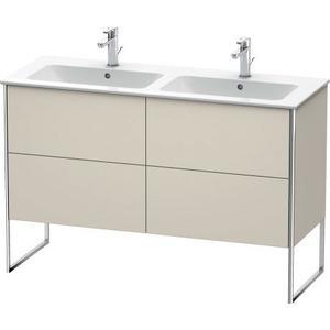 Vanity Unit Floorstanding, Taupe Matte (decor)