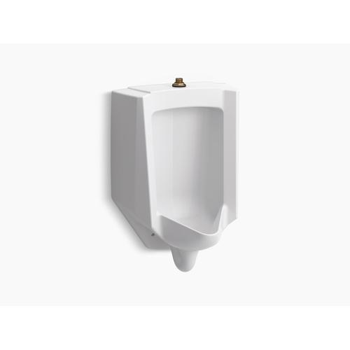 Black Black High-efficiency Urinal (heu), Washdown, Wall-hung, 0.125 Gpf To 1.0 Gpf, Top Spud