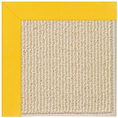 "Creative Concepts-Beach Sisal Canvas Sunflower Yellow - Rectangle - 24"" x 36"""