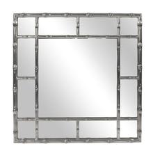 View Product - Bamboo Mirror - Glossy Charcoal