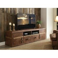 ACME Aberdeen TV Stand - 91500 - Retro Brown Top Grain Leather