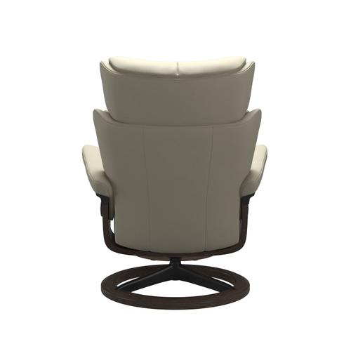 Stressless By Ekornes - Stressless® Magic (L) Signature chair with footstool