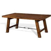 View Product - Tuscany Rectangular Table w/ Turnbuckle