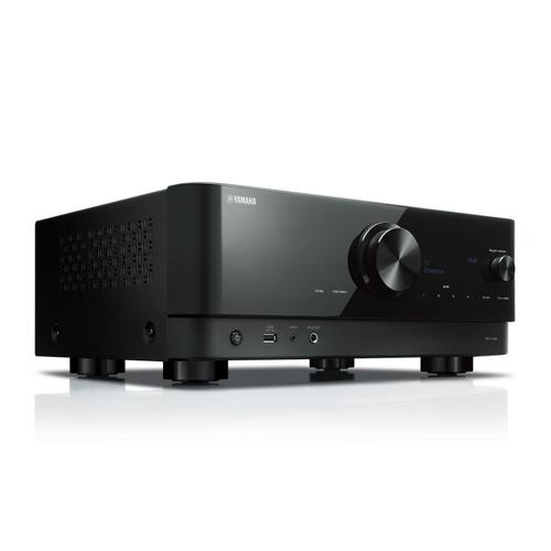 Yamaha - RX-V4A Black 5.2-Channel AV Receiver with 8K HDMI and MusicCast