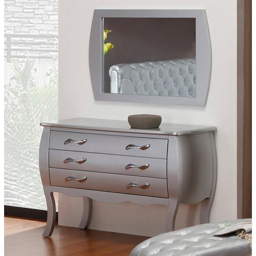 VIG Furniture - Modrest Monte Carlo Transitional Platinum Dresser