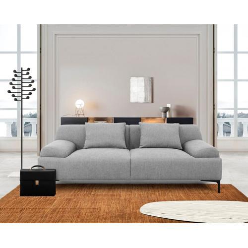 VIG Furniture - Divani Casa Ronny - Modern Grey Loveseat