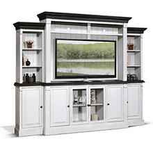 """View Product - 124""""W Entertainment Wall"""