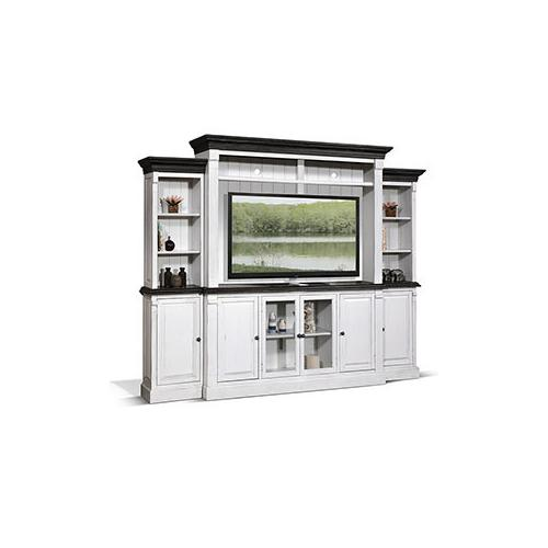 """Sunny Designs - 124""""W Entertainment Wall"""