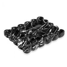 See Details - Bliss Scalloped Tray - Black