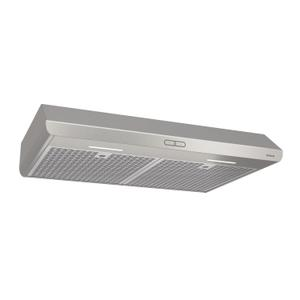 BroanBroan® 30-Inch Convertible Under-Cabinet Range Hood, 300 CFM, Stainless Steel