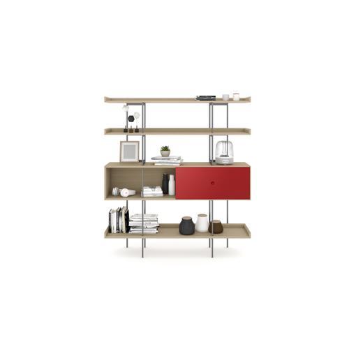 BDI Furniture - Margo 5201 Shelf in Drift Oak Cayenne